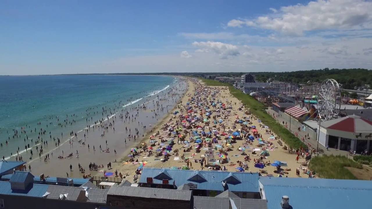 Old Orchard Beach Maine July 24 2016 Dji Phantom