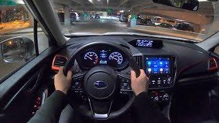 2019 Subaru Forester Sport - POV Night Drive (Binaural Audio)