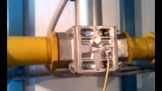 Клапан газовый электрический