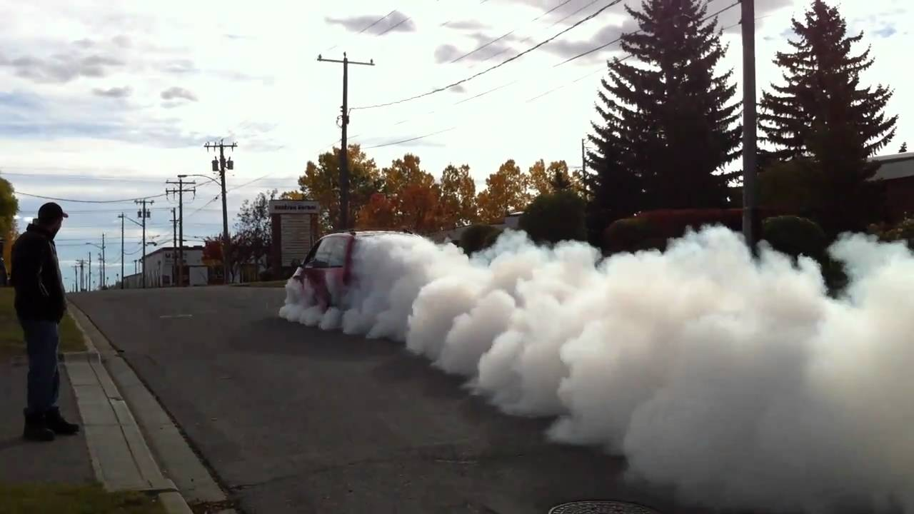 Turbo Dodge Caravan 35psi Burnout Jet Like Sound Youtube