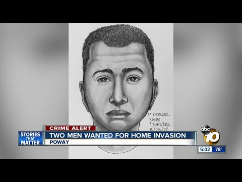 Two men wanted for Poway home invasion