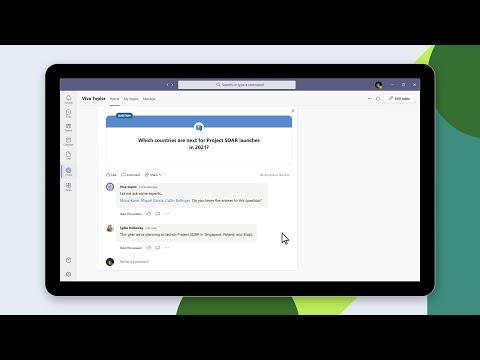 Introducing Microsoft Viva Topics for Leaders