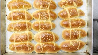 How To Make Super Soft and Moist Chinese Bakery Buns | Fluffy Milk Bread | Dinner Rolls Recipe