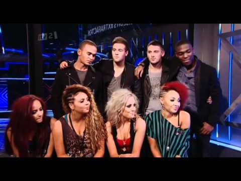 "The Xtra Factor - Live Shows Top 11 (22/10/11) - ""Groups"" Interview"