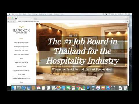 Bangkok: How to Find A Professional Job in 2 Weeks