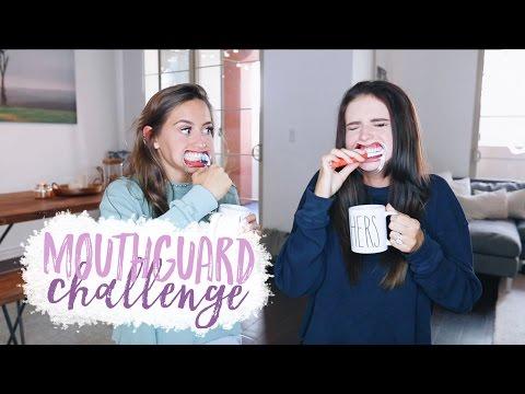 MOUTHGUARD CHALLENGE w/ Kristin Johns