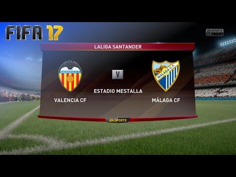 FIFA 17 - Valencia CF vs. Málaga CF @ Estadio Mestalla