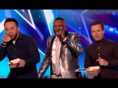 He Sings About Chicken and Chips and It's Deliciously AMAZING! | Week 7 | Britain's Got Talent 2017