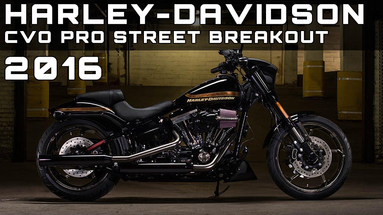 2016 Harley Davidson Cvo Pro Street Breakout Review Rendered Price