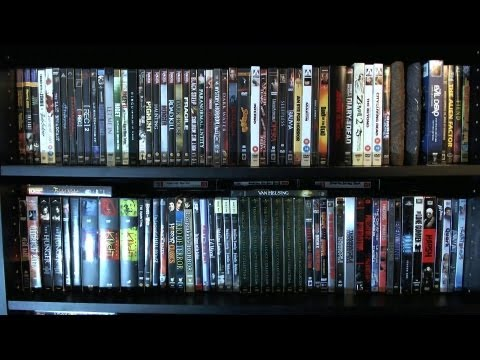My Horror DVD Collection - 2012 DVD/Blu-ray Collection Overv