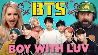 Gambar cover Adults React To BTS - Boy With Luv Ft. Halsey