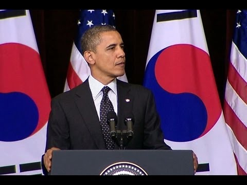 President Obama Speaks at Hankuk University