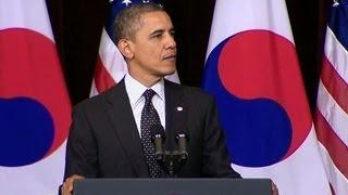 President Obama Speaks at Hankuk University
