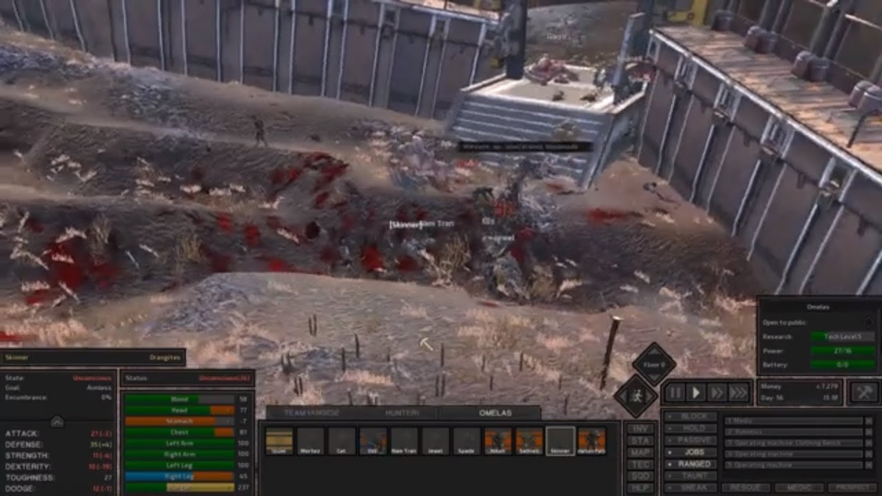 Hunter Recover and Battle Royale at Omelas - Kenshi - Part 59
