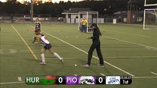CTN SPORTS 2017 - Huron @ Pioneer High School Field Hockey, October 16th