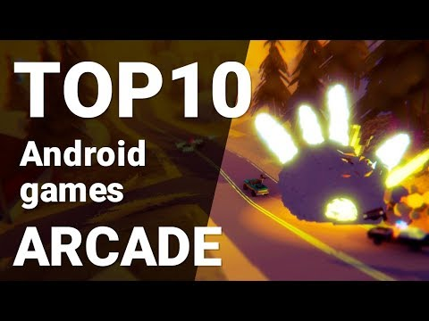Top 10 Arcade Games For Android 2018 [1080p/60fps]