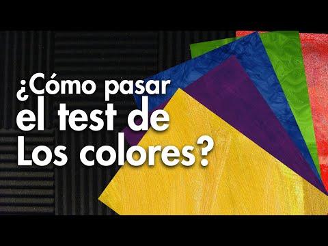 Test de los colores de Lusher (Qu es y como solucionarlo)