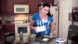 Butterfinger Cake, Class Demonstration
