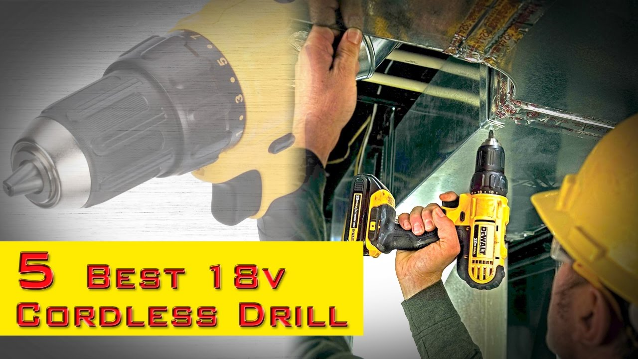 5 Best Cordless Drill For Home Use Best Budget Cordless Drill