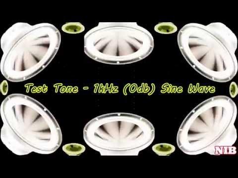 NIB - Test Tone - 1kHz (0db) Sine Wave