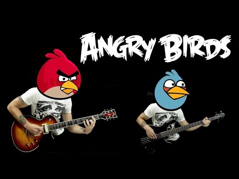 ANGRY BIRDS Main Theme - Guitar Cover
