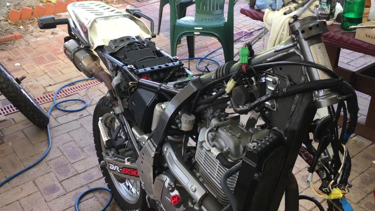 Dr350 Wiring Problems Dr Thumpertalk