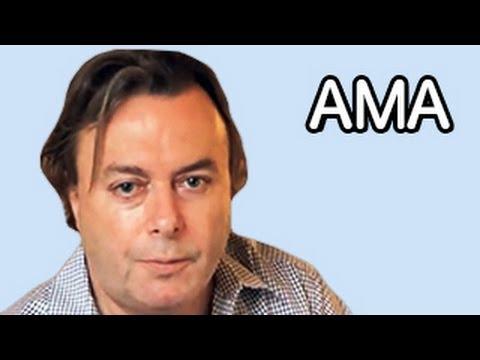 IAMA: Christopher Hitchens   reddit's top ten questions