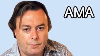 IAMA: Christopher Hitchens | reddit's top ten questions