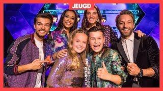 Max en Anne winnaars Junior Songfestival