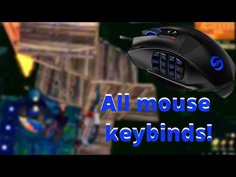 Fortnite - 12 Button MMO Mouse Keybinds - Easy Building