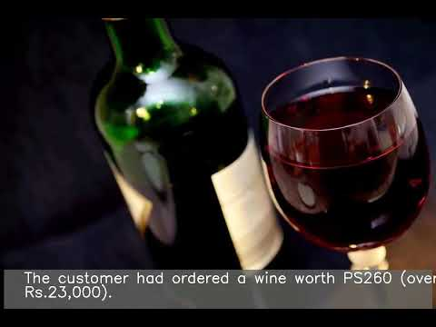 A.J. - Waiter Accidentally Serves A $5,000 Bottle Of Wine To Some Customers!