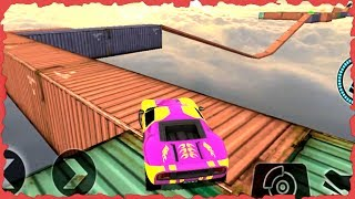 Impossible Stunt Car Tracks 3D - Dodge Viper New Car Unlocked - Android GamePlay 2017
