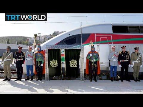 Morocco unveils Africa's fastest railway line   Money Talks