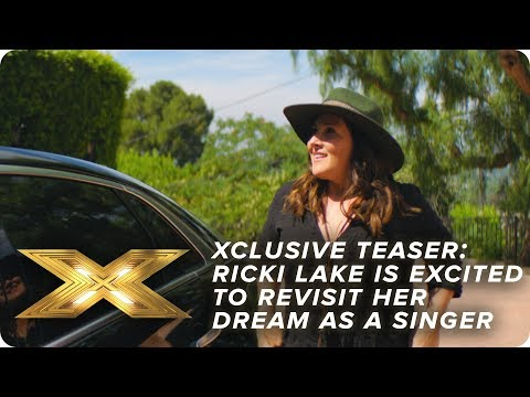 XCLUSIVE TEASER: Ricki Lake is excited to revisit her dream as a singer | X Factor: Celebrity