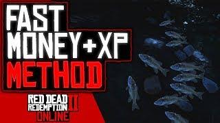 NEW FAST EASY MONEY & XP METHOD In Red Dead Redemption 2 Online (RDR2 Online)
