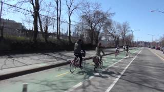 Is the Kent Avenue Bike Path the West Side Highway Cycletrack of Brooklyn?