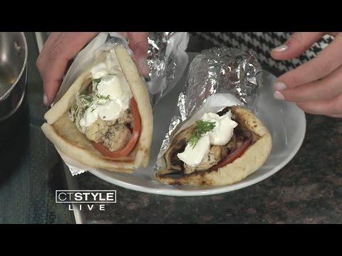 In the Bender Kitchen: Authentic Greek Chicken Souvlaki Gyro