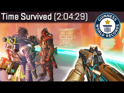 Breaking the WORLD RECORD for the LONGEST MATCH EVER in Apex Legends - Zylbrad