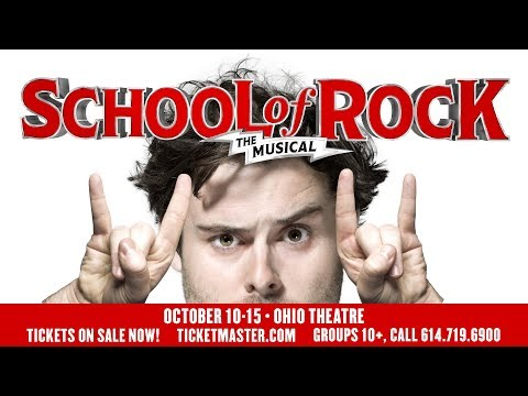 SCHOOL OF ROCK Carpool Karaoke - PNC Broadway In Columbus - Broadway Dish - Ep 53
