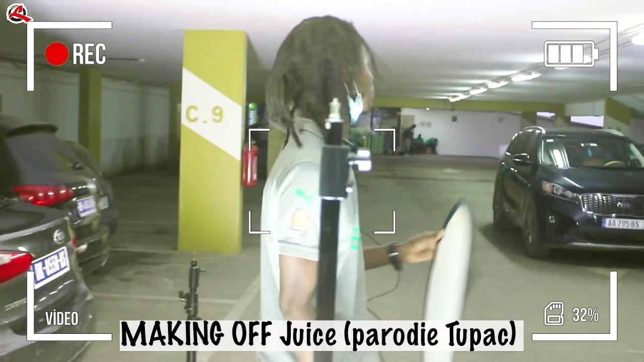 Making off Juice ( Parodie Singom )