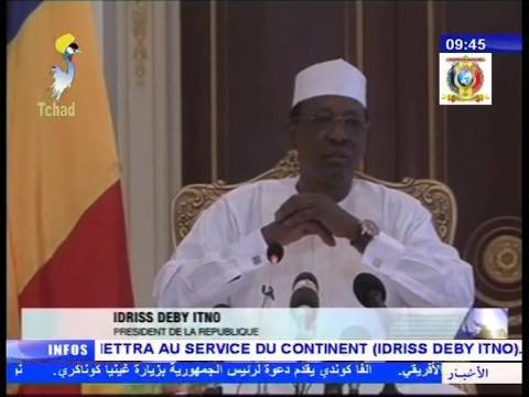 3ème partie de l'interview du président Idriss Deby Itno après son mandat à la présidence de l'UA