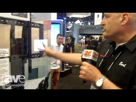 InfoComm 2016: Peerless-AV Reviews New Microsoft Surface Hub Cart