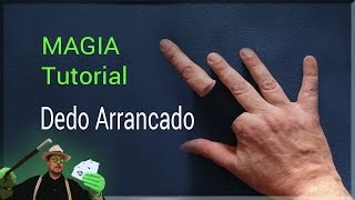 Magia Explicada: Dedo arrancado y pegado I REVELADO( Magic Tutorial: Finger I booted and pasted.)