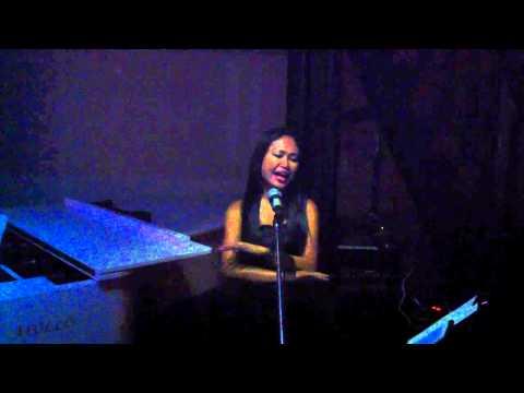 Mirasol Aguila at the La Fenetre arena Live Music Saigon