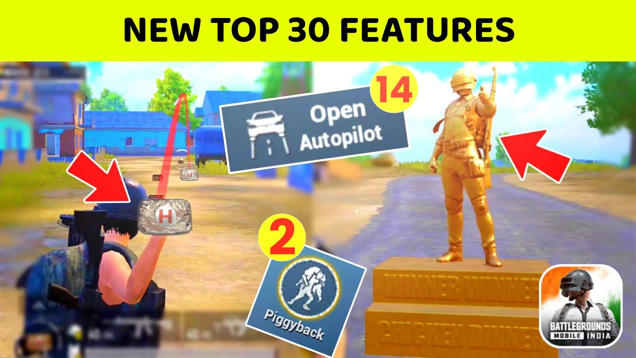 ? Top 30 Upcoming Features In PUBG MOBILE 1.5 Version - IND AKHIL