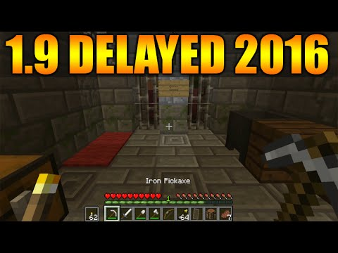 ★Minecraft 1.9 Update - THE COMBAT UPDATE Delayed Until 2016 (Minecraft 1.9)★