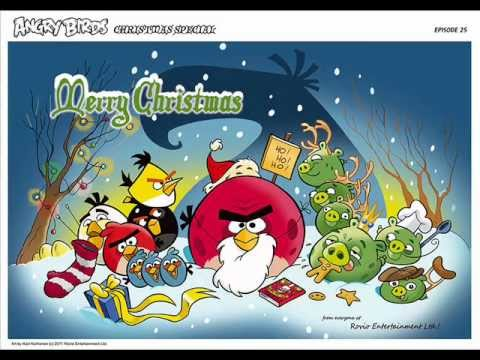 angry birds - merry christmas (comic) - YouTube