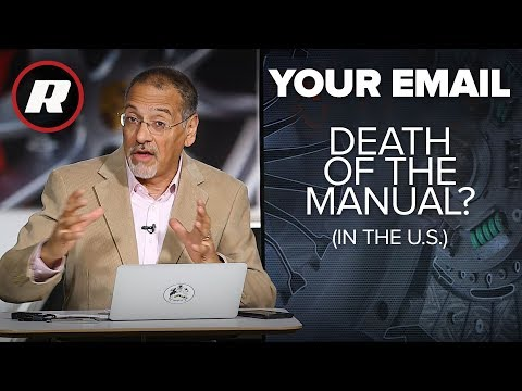 Your Email: Why manual transmissions are rare in the U.S.   Cooley Explains