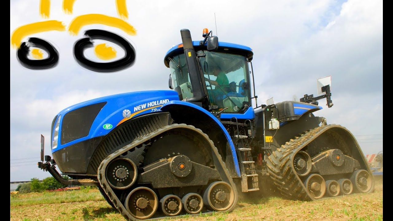 New Holland T9 560 Ati Modular Track Systems