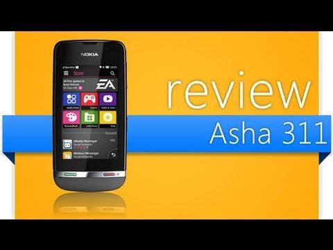 Review Nokia Asha 311 - Muito igual ao 305